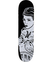 Blackout Forever Girl 8.0 Skateboard Deck