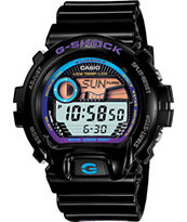 G-Shock GLX6900-1 G-Lide Black & Purple Digital Watch