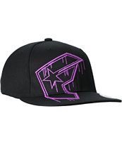 Famous Stars & Straps Giant Sloppy Boh Black & Purple Hat