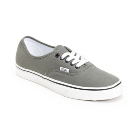 Vans Authentic Pewter & Black Shoe