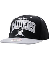 NFL Oakland Raiders Mitchell and Ness Snapback Hat 1ed709065