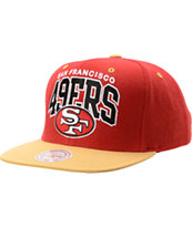 NFL Mitchell and Ness San Francisco 49ers Snapback Hat