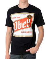 Obey High Life Black Tee Shirt