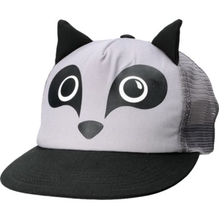 Neff Animal Raccoon Grey Hat