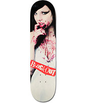 Blackout Vampire Girl 8.0 Skateboard Deck