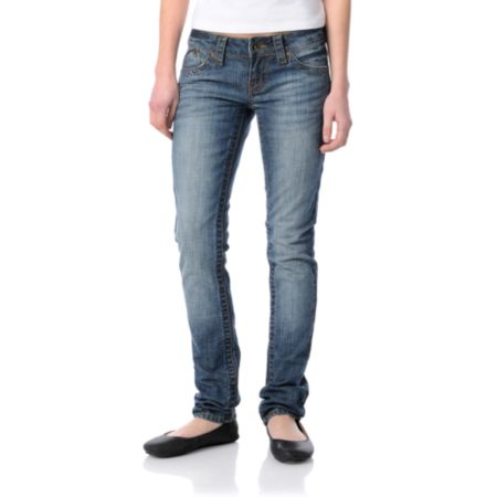 Empyre Girls Eve Indigo Super Skinny Jeans