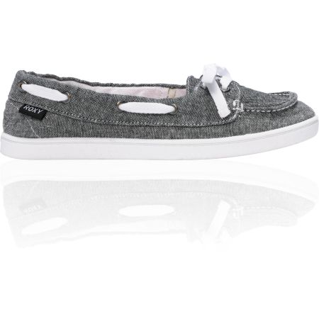 Roxy Ahoy Black Chambray Shoe