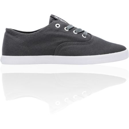 Supra Wrap Charcoal Canvas Shoe