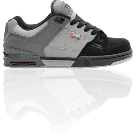 DVS Shoes Squadron Black & Grey Nubuck Shoe