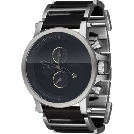 Vestal Plexi Black & Silver Analog Watch
