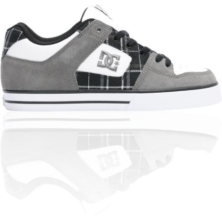 DC Pure XE Battleship & Black Skate Shoe