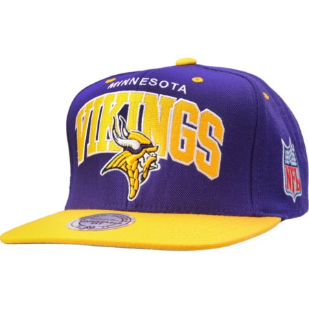 NFL Mitchell and Ness Minnesota Vikings Snapback Hat