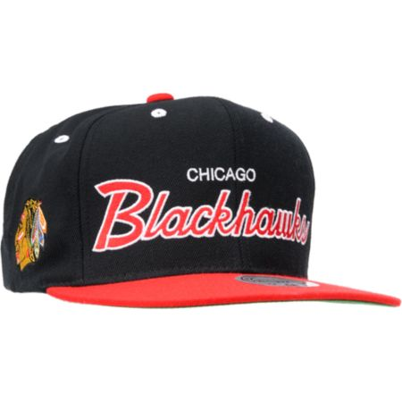 NHL Mitchell And Ness Chicago Blackhawks Snapback Hat