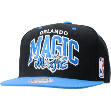 NBA Mitchell and Ness Orlando Magic Snapback Hat