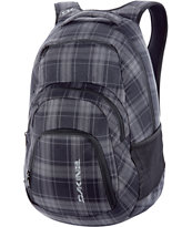 Dakine Campus Northwood Large Plaid Skate Backpack