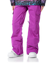 Empyre Girl 2012 Hoodwink Purple 10k Womens Snowboard Pants