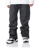 Empyre Skeletor Black 10K 2012 Guys Snowboard Pants