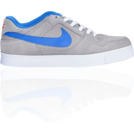 Nike SB Zoom P-Rod 2.5 Grey & Blue Suede Skate Shoe