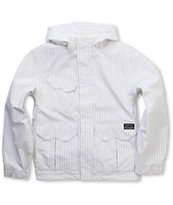 Empyre Descender 2012 Kids White 10K Snowboard Jacket