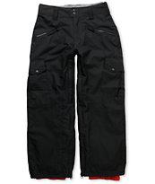 Empyre Boys Sentinal 2012 Black 10k Snowboard Pants