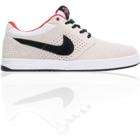 Nike SB P-Rod 5 Low Lunarlon White, Black & Varsity Red Shoe