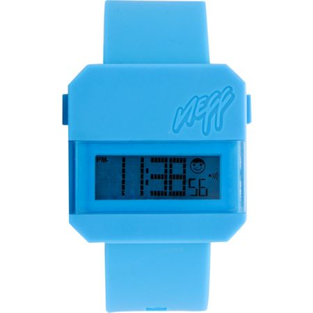 Neff Digi Cyan Blue Digital Watch