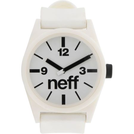 Neff Daily White Analog Watch