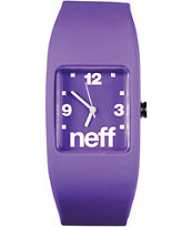 Neff Bandit Purple Wristband Analog Watch
