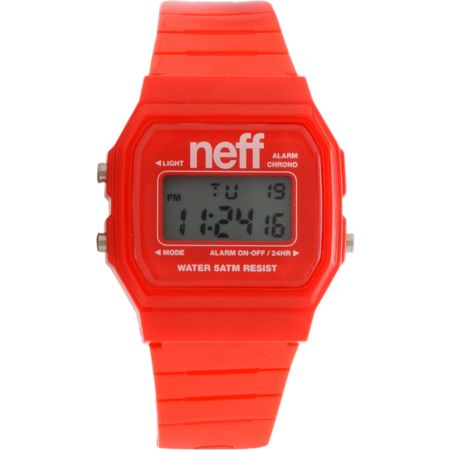 Neff Flava Red Digital Watch