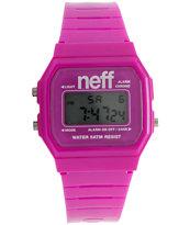 Neff Flava Purple Digital Watch
