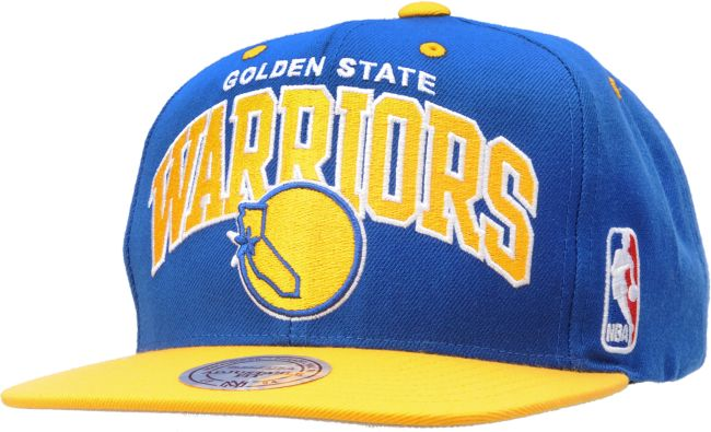 mitchell and ness golden state warriors snapback. NBA Golden State Warriors Arch