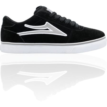 Lakai Manchester Select Black & Grey Skate Shoe