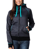 Empyre Girl Canyon Black Herringbone Tech Fleece