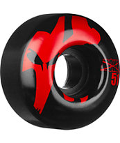 Bones 51mm Strobe Red & Black Skateboard Wheels