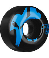 Bones Strobe Black & Blue 53mm Skateboard Wheels
