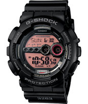 G-Shock GD100MS-1 Classic Black Watch
