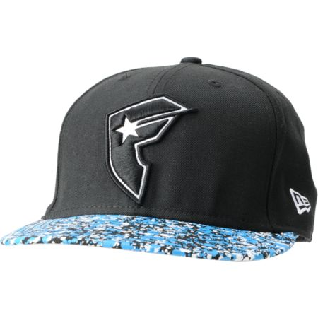 Famous Stars & Straps Odyssey Black New Era Fitted Hat