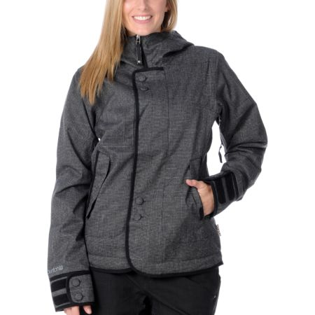 Burton Girls 2012 Black 10K Jet Set Snowboard Jacket