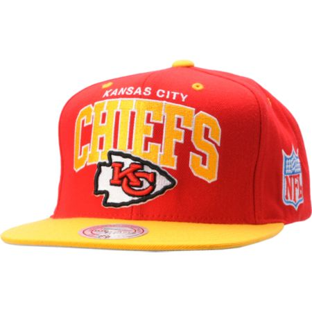 NFL Mitchell and Ness Kansas City Chiefs Snapback Hat
