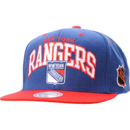 NHL Mitchell and Ness New York Rangers Snapback Hat