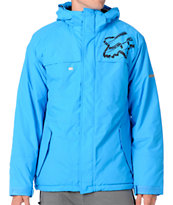Fox FX1 2012 Blue 5K Guys Snowboard Jacket