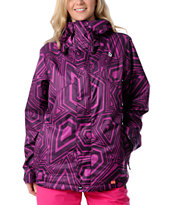 Volcom Girls Ayers Stone Culture 2012 Snowboard Jacket
