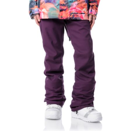 Volcom Girls District Stretch Purple 2012 Snowboard Pants