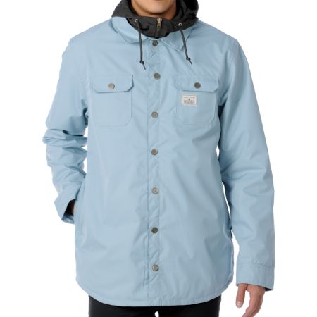 Holden Tarquin 10K Light Blue 2012 Guys Snowboard Jacket