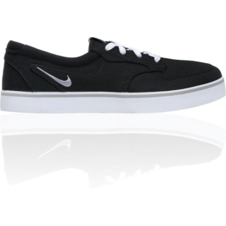 Nike 6.0 Braata Black, White & Gum Canvas Skate Shoe