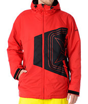 Sessions 2012 Truth 10K Red Snowboard Jacket