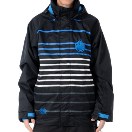 Nomis Lines 10K Black 2012 Guys Snowboard Jacket
