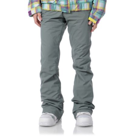 Burton Candy Pant 2012 Grey Girls Snowboard Pants