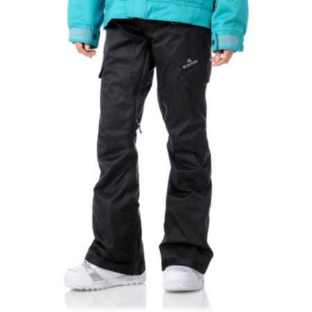 Burton Girls 2012 Indulgence Black 10K Snowboard Pants