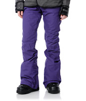 Burton Candy Purple 10K 2012 Girls Snowboard Pants